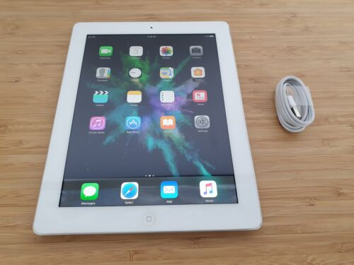 Apple iPad 4th Gen. 32GB, Wi-Fi+4G, 9.7in -White- (AU Stock) - PWR Button Fault