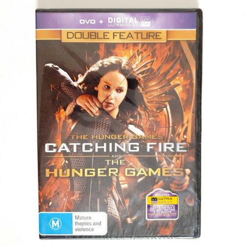 The Hunger Games and Catching Fire 2 x DVD Movies Free Post Region 4 AUS