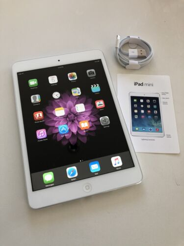 Near New Apple iPad mini 1st Gen. 16GB, Wi-Fi, 7.9in - White & Silver (AU Stock)