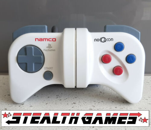 PS1 Namco Negcon Controller (NPC-101, 1995) Sony Playstation 1 for Racing Games