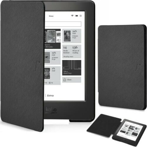Forefront Cases Kobo Aura H2O Edition 1 Shell Smart Case Cover Folio Wallet