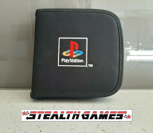 PS1 Official CD Carry Case -  Genuine Sony Playstation 1 PSX Ps One
