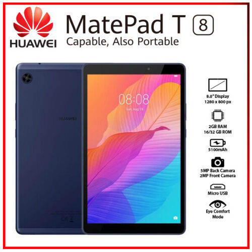 "Huawei MatePad T8 8"" Blue 2GB+32GB Octa Core 5100mAh Android PC Tablet(WiFi+LTE)"