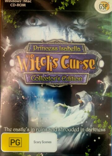 Princess Isabella - A Witch's Curse (PC CD-Rom) Hidden Object Adventure Game