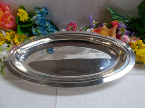 LOVELY SILVER GOLDCRAFT E.P.N.S A1 TRAY - 31 cm Long x 16 3/4 cm Wide - GC # 790