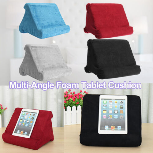 Tablet Pillow Stands For iPad Book Reader Holder Rest Laps Reading Cushion AU #