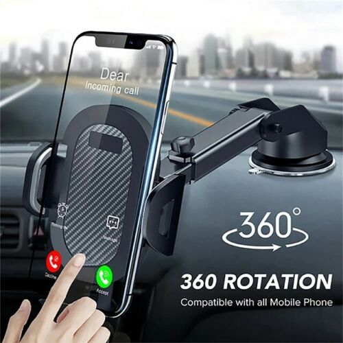 Car Dashboard Phone Holder Long -Neck Adjustable 360° Rotatable Mount Stand New <br/> Premium Quality + Fast Delivery + Very Strong