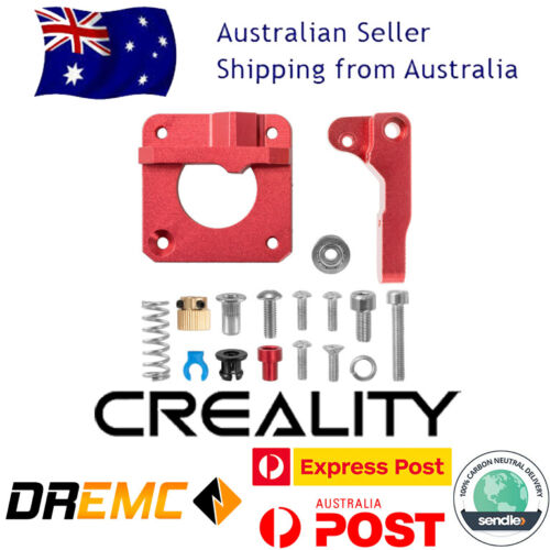 Creality Red Metal Extruder Drive Feed Frame Ender 3 Pro / 5 / CR10 3D Printer