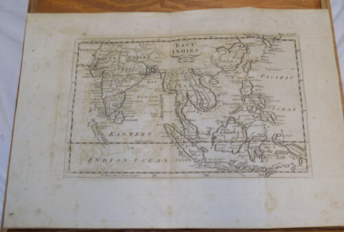 1798 Antique Dobson MAP  ///  EAST INDIES