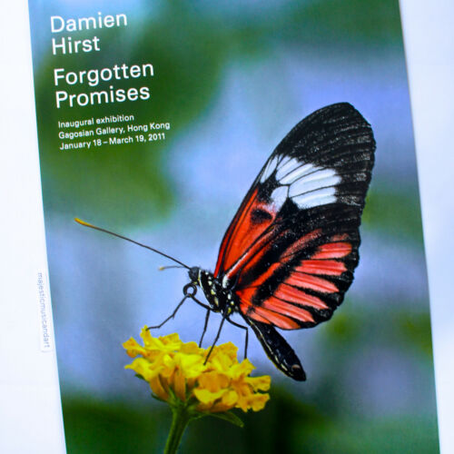 LARGE DAMIEN HIRST 2011 EXHIBITION POSTER