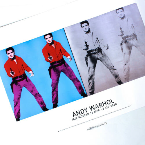 ANDY WARHOL FOUR TIMES ELVIS POSTER WARHOL FOUNDATION EXHIBITION POSTER