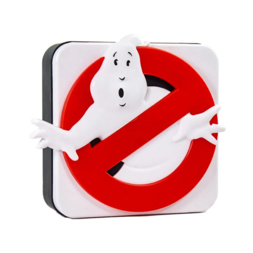Ghostbusters Logo Lamp NEW