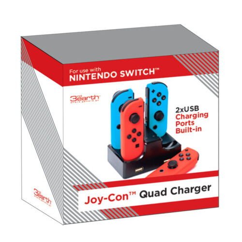 Nintendo Switch Joy-Con Quad Charger NEW
