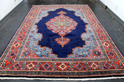8X12 ONE IN A MILLION MASTERPIECE MINT HAND KNOTTED VISS ORIENTAL WOOL RUG