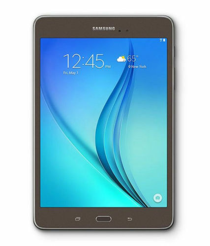 SAMSUNG GALAXY TAB A - 16GB - WHITE - WIFI + CELLULAR - SMOKEY TITANIUM SM-T355Y