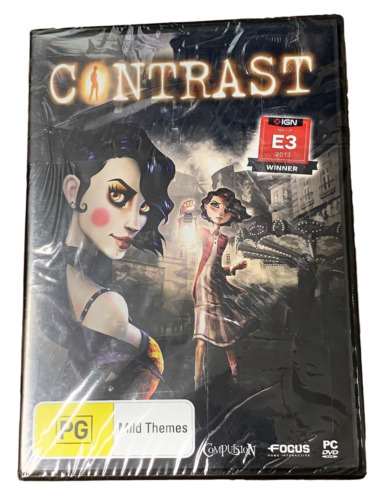 Contrast *Sealed* PC DVD