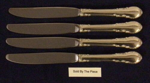 """Lunt Modern Victorian Sterling Silver Modern Hollow Knife 9"""" Long  No Mono"""