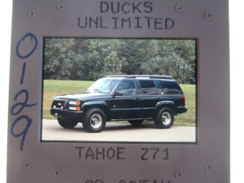 CHEVROLET TAHOE DUCKS UNLIMITED Z71 PRESS SLIDE - 1999