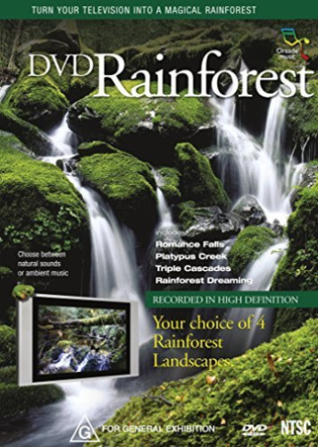DVD Rainforest - Turn Your TV Into A Magical Rainforest - Relaxation - Meditate