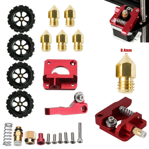 MK8 Extruder Upgrade Kit Nozzle Net For Creality Ender 3 Pro CR-10 0.4mm Parts