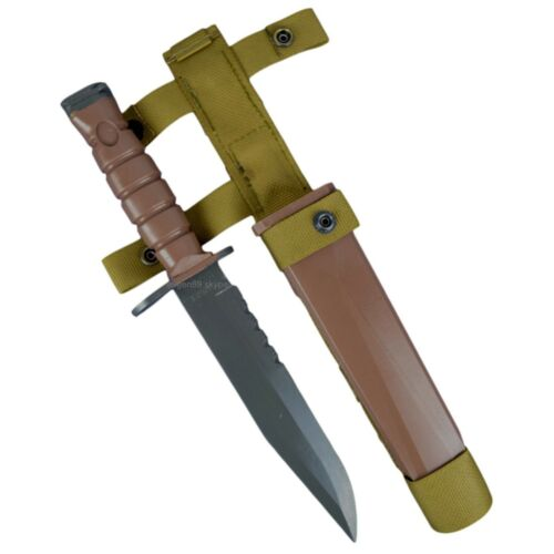 Airsoft Knife OKC-3S with Sheath US Army Marine Corps Training Knife Replica Reproductions - 156470
