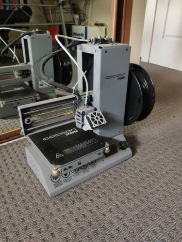 3D Printer - Cocoon Create Model Maker Mini - With 1 role of filament