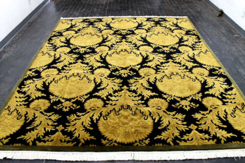 8X10 MAGNIFICENT NEW 200+KPSI HAND KNOTTED GHAZNI WOOL CONTEMPORARY ORIENTAL RUG