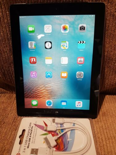 Apple iPad 2 A1396. wifi / data Factory reset. Working Perfectly.