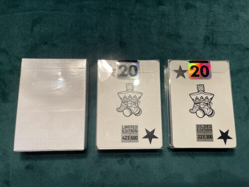 20/20 Playing Cards Kings Wild Gilded Limited and Standard by Jackson Robinson