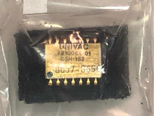 UNIVAC GOLD chip - new old stock