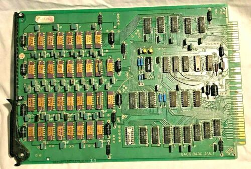 Rare, vintage computer LC28C V3, 8K RAM memory board with lots of GOLD chips