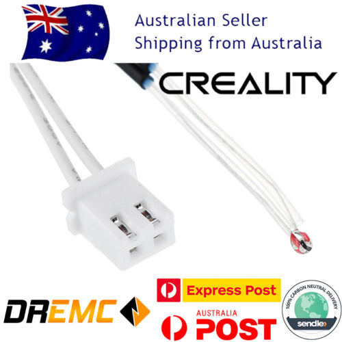 Creality 3950K 100k Thermistor XH2.54 Terminal for Ender 3 3 Pro 3D Printers