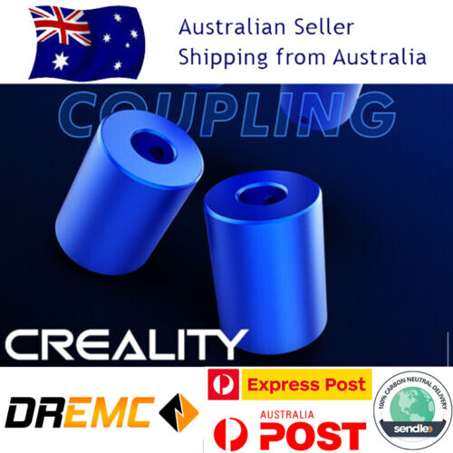 2pc Creality Aluminum Alloy Flexible Coupling for Ender 3/5/CR10 3D Printers