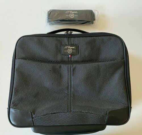 S.T. DUPONT trolley Bagage cabine Carbon Ceramic <br/> S.T. DUPONT Cabin luggage Carbon Ceramic
