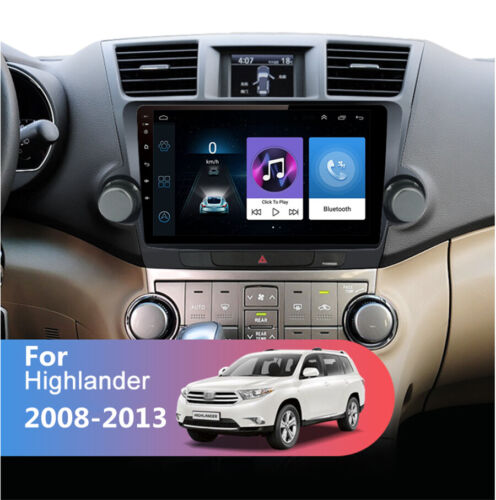 10.1'' Android 9.1 2G+32GB Car Stereo Radio GPS WIFI For Toyota Highlander 08-13