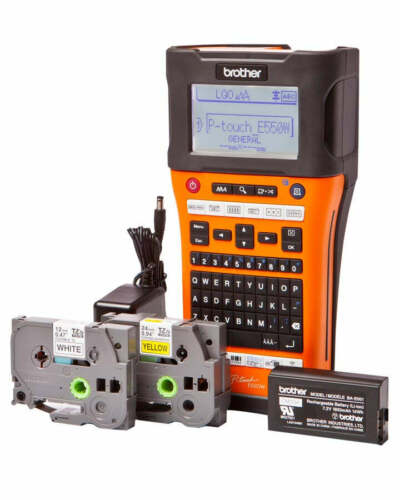 Brother P-Touch E550WVP Industrial Labeller