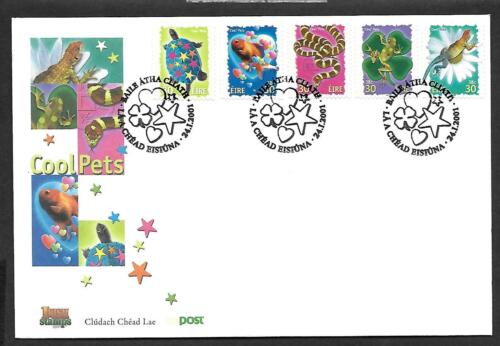 2001   FDC         COOL PETS Set of five       An Post