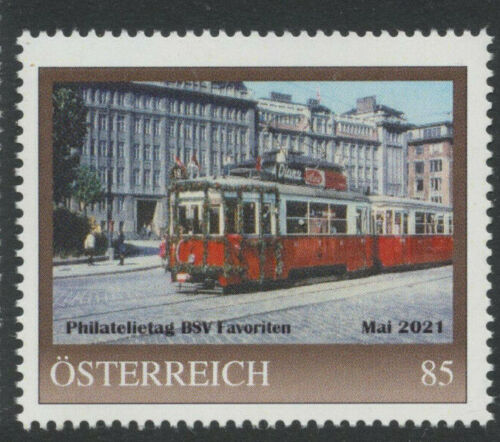 8137283 PM - Philatelietag BSV Favoriten - Mai 2021 - Eisenbahn ** pt0462