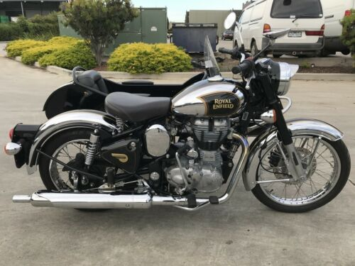 ROYAL ENFIELD CLASSIC 500 WITH SIDECAR 02/2015MDL 5167KMS STAT PRJECT MAKE OFFER