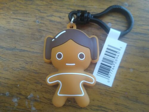 Star Wars Christmas Character Bag Clip 3 Inch Gingerbread Leia