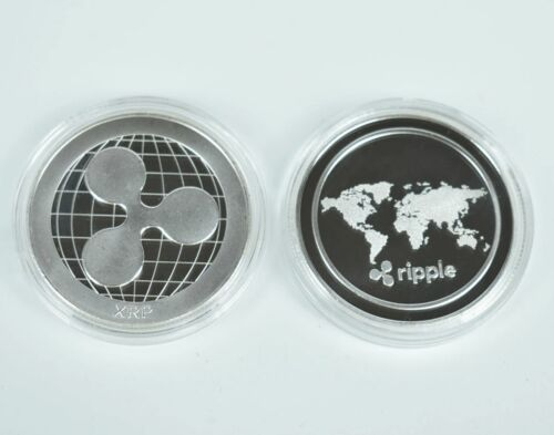 1x Ripple XRP Collectable Coin in case Commemorative Coin Gifts