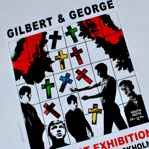 GILBERT AND GEORGE EXHIBITION POSTER