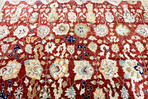 10X14 1960's HAND KNOTTED 200+KPSI VEGETABLE DYE SUPERB TABRIZZ ORIENTAL RUG