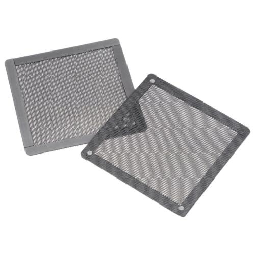 PC Dust Fan Filters with Magnetic Frame for Cooling Case Cover PVC 120mm 2pcs