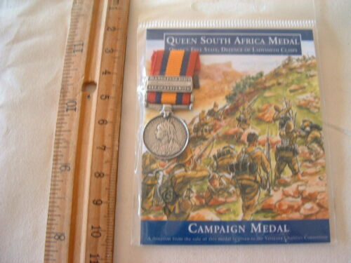 PACKET PARADE CAMPAIGN MEDAL QUEEN SOUTH AFRICA  [ BOAR WAR ] WITH CLASPOther Eras, Wars - 135