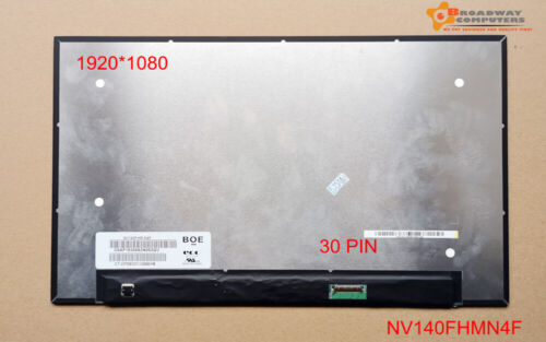 """14"""" FHD IPS LCD Screen Compatible NV140FHM-N47 Dell 0YPGWS YPGWS 0KGYYH KGYYH"""