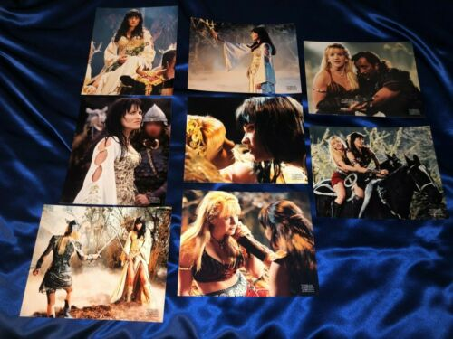 ULTRA RARE Xena Premiere Photo Club May 2002 Return Of The Valkyrie Picture Set