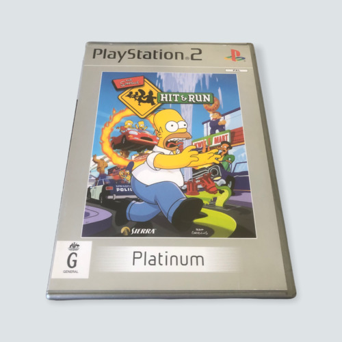 The Simpsons: Hit & Run for Sony Playstation 2/PS2 - GC/G/PAL/Tested/AUS 🐙