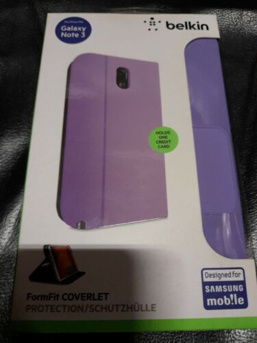 Belkin F8M734B1C02 Case for Samsung Galaxy Note 3 FormFit Coverlet Brand New