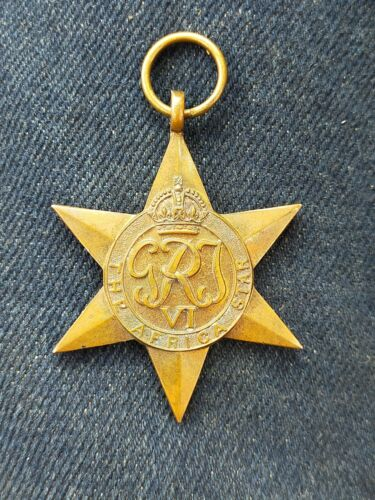 Star Of Africa Medal WWII 1939 - 1945 (WWII) - 13977